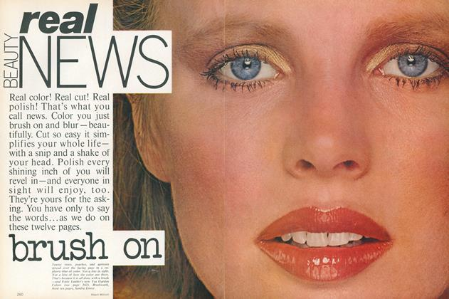 Article Preview: Beauty Real News, March 1978 | Vogue