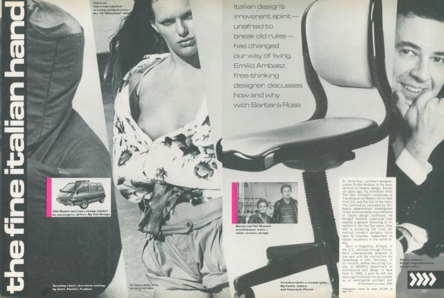 Article Preview: Italian Design: The Fine Italian Hand, April 1978 | Vogue