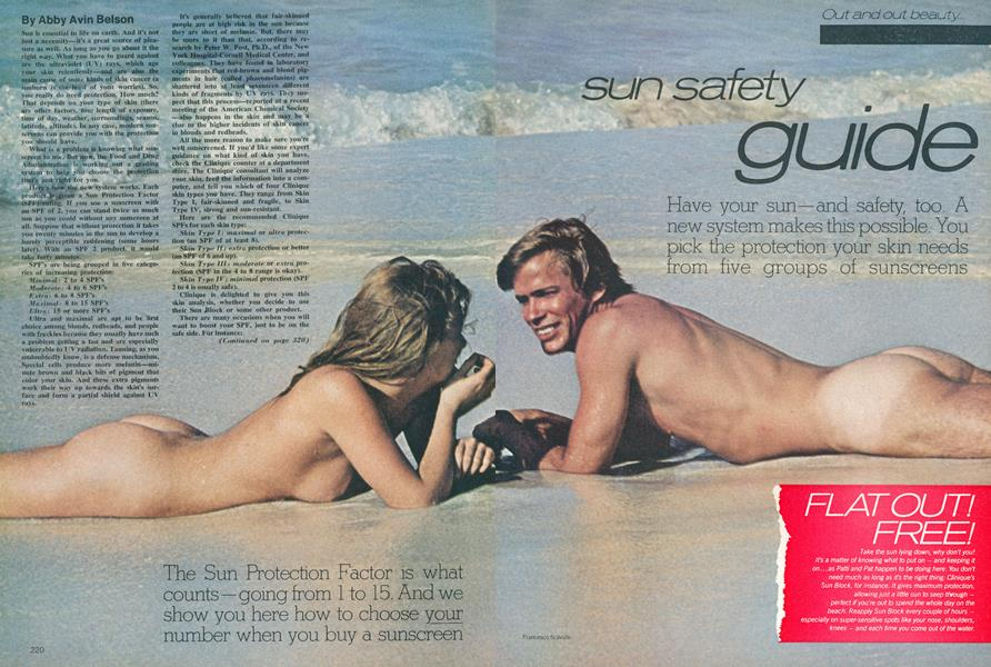 Out and Out Beauty: Sun Safety Guide