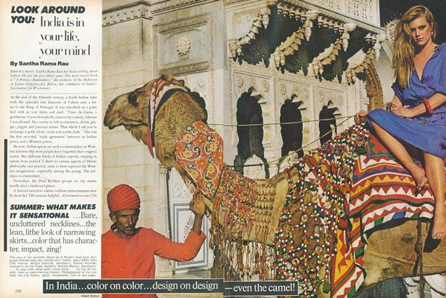 Article Preview: Look Around You: India Is In Your Life, Your Mind, May 1978 | Vogue
