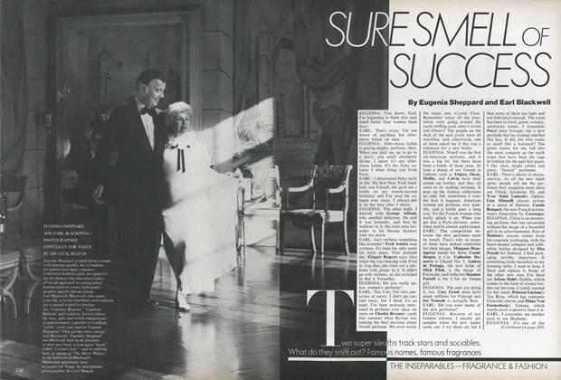 Article Preview: The Inseparables—Fragrance & Fashion: Sure Smell of Success, May 1978 | Vogue