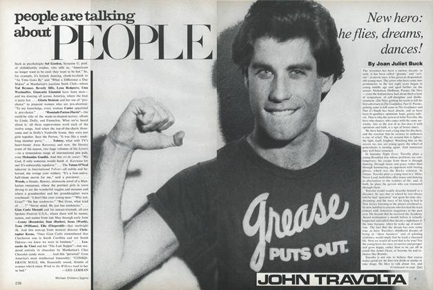 Article Preview: John Travolta: New Hero: He Flies, Dreams, Dances!, May 1978 | Vogue