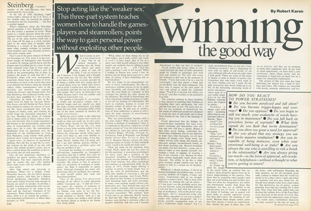 Article Preview: Winning the Good Way, May 1978 | Vogue