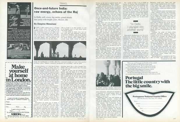 Article Preview: Once-and-Future India: Raw Energy, Echoes of the Raj, May 1978 | Vogue
