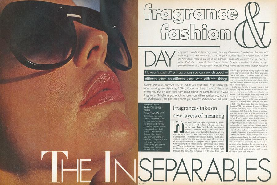The Inseparables—Fragrance & Fashion: Day