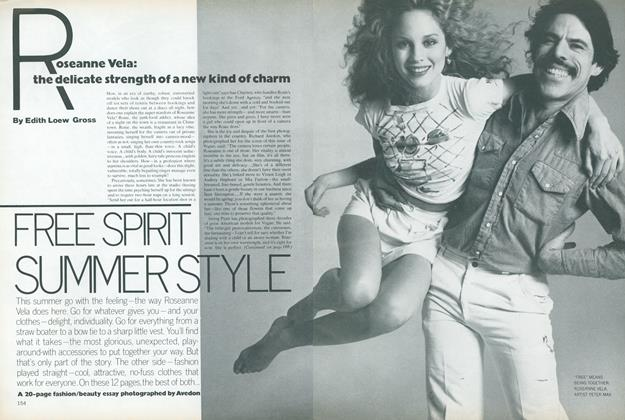 Article Preview: Rosanne Vela: The Delicate Strength of a New Kind of Charm, June 1978 | Vogue