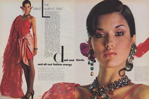 Article Preview: The Saint Laurent Spirit, July 1978 | Vogue