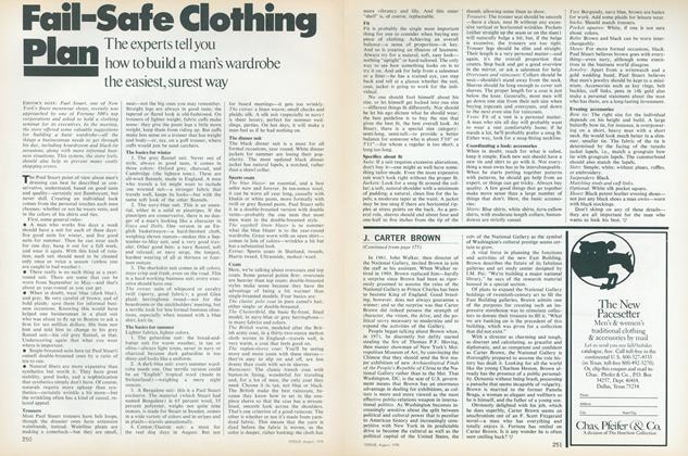 Fail-Safe Clothing Plan