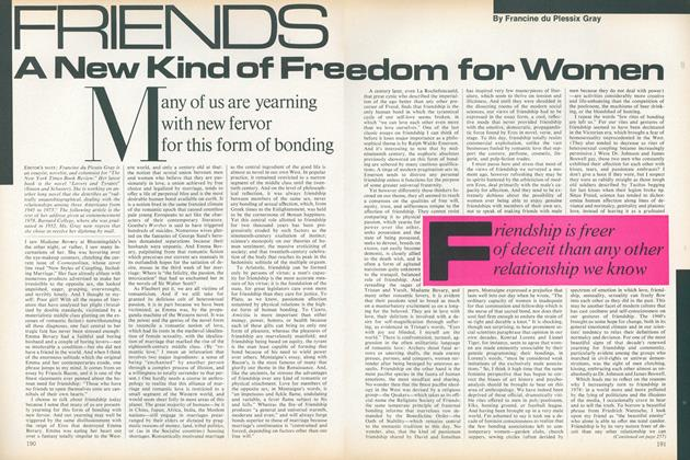 Article Preview: Friends: A New Kind of Freedom for Women, August 1978 | Vogue