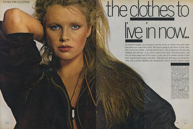 Article Preview: The New York Collections: The Clothes to Live in Now, September 1978 | Vogue
