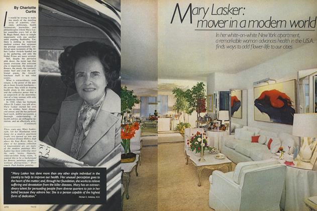 Mary Lasker: Mover in a Modern World