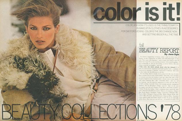 Article Preview: Fall Beauty Report, October 1978 | Vogue