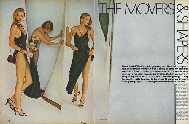 Article Preview: The Movers & Shapers, November 1978 | Vogue