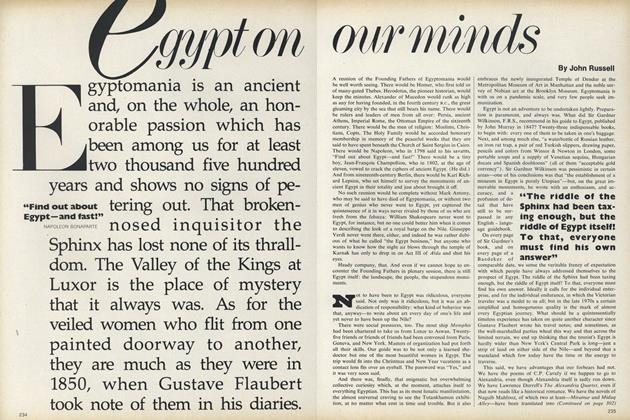 Article Preview: Egypt on Our Minds, December 1978 | Vogue