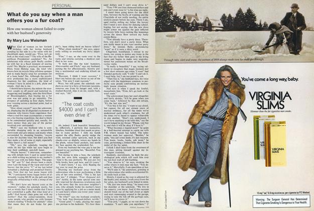 Article Preview: What Do You Say When a Man Offers You a Fur Coat?, December 1978 | Vogue