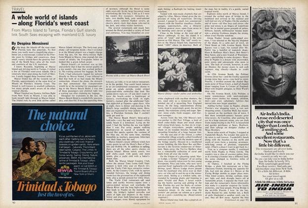 Article Preview: A Whole World of Islands–Along Florida's West Coast, January 1979 | Vogue