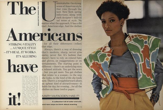 Article Preview: New York Spring Collections: The Americans Have It!, February 1979 | Vogue