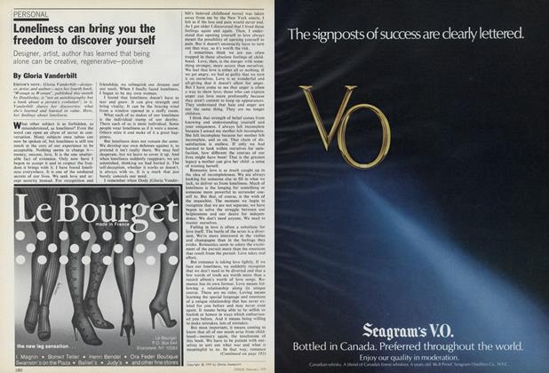 Article Preview: Loneliness Can Bring You the Freedom to Discover Yourself, February 1979 | Vogue
