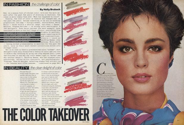 Article Preview: The Color Takeover, March 1979 | Vogue