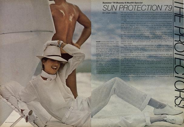Article Preview: The Protectors! Sun Protection '79, April 1979 | Vogue