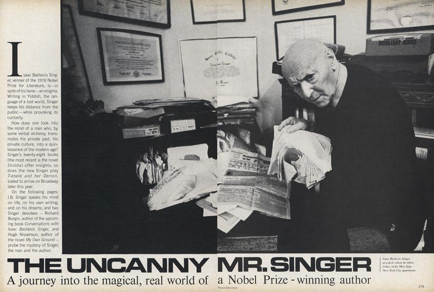 The Uncanny Mr. Singer. A Journey into the Magical, Real World of a Nobel Prize-winning Author.