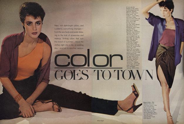 Article Preview: Color Goes to Town, May 1979 | Vogue