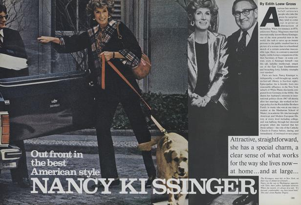 Article Preview: Nancy Kissinger: Out Front in the Best American Style, June 1979 | Vogue