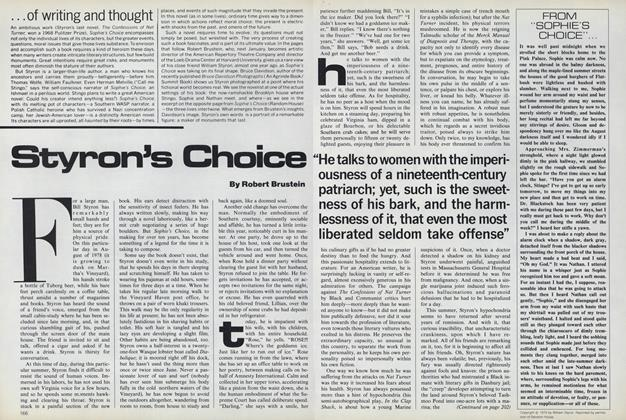 Article Preview: Styron's Choice, July 1979 | Vogue