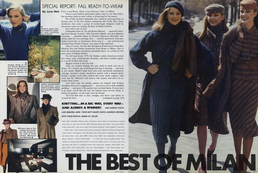 The Best of Milan