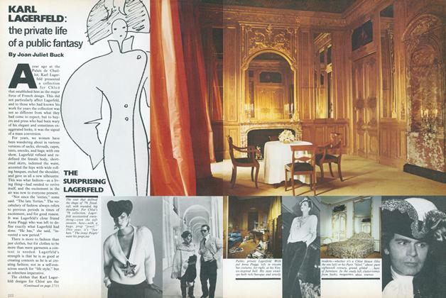 Article Preview: Karl Lagerfeld: The Private Life of a Public Fantasy, August 1979 | Vogue