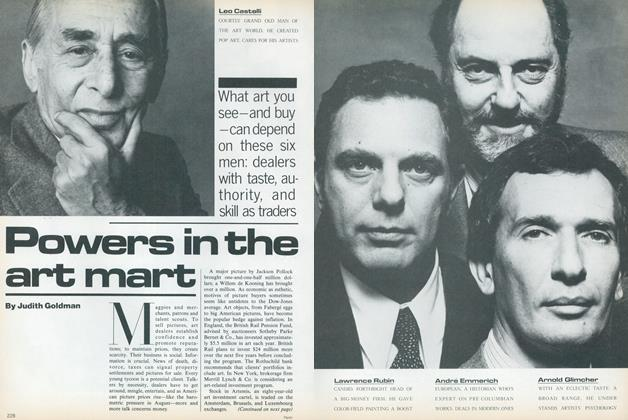 Article Preview: Power in the Art Mart, August 1979 | Vogue