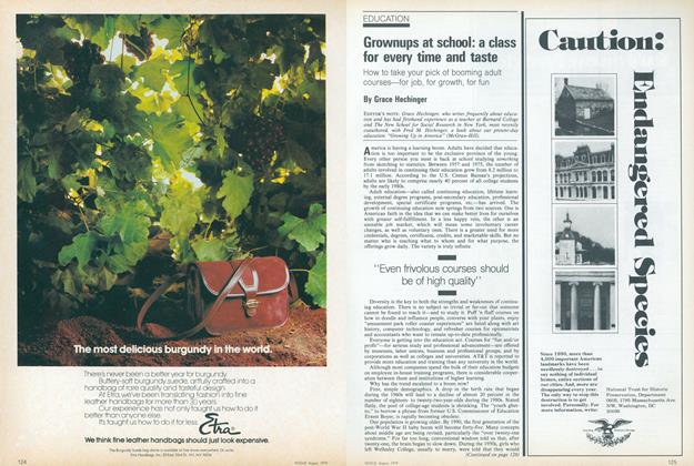 Article Preview: Grownups at School: A Class for Every Time and Taste, August 1979 | Vogue