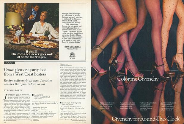 Article Preview: Crowd Pleasers: Party Food from a West Coast Hostess, September 1979 | Vogue