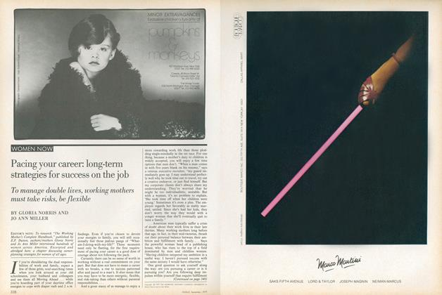 Article Preview: Pacing Your Career: Long-term Strategies for Success on the Job, September 1979 | Vogue