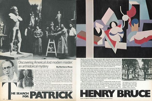 Article Preview: The Search for Patrick Henry Bruce, September 1979 | Vogue