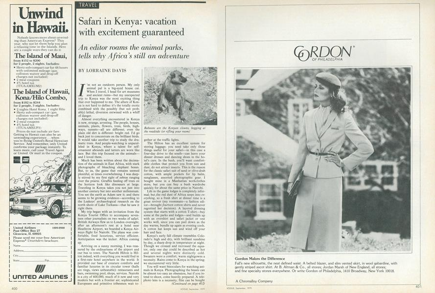 Safari in Kenya: Vacation with Excitement Guaranteed