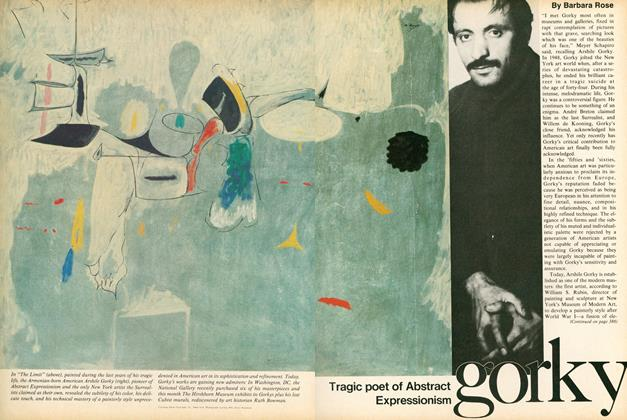 Gorky: Tragic Poet of Abstract Expressionism