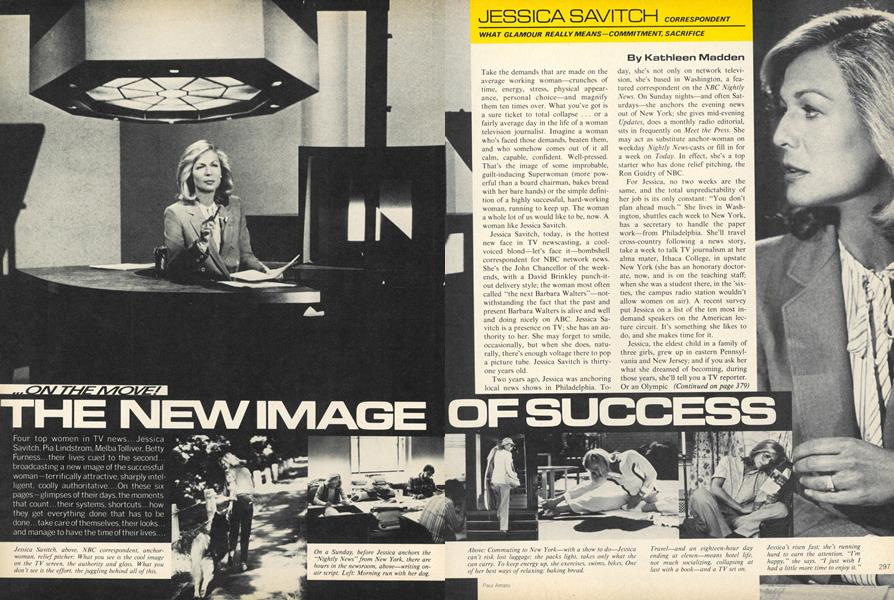 The New Image of Success: Women in Television Jessica Savitch