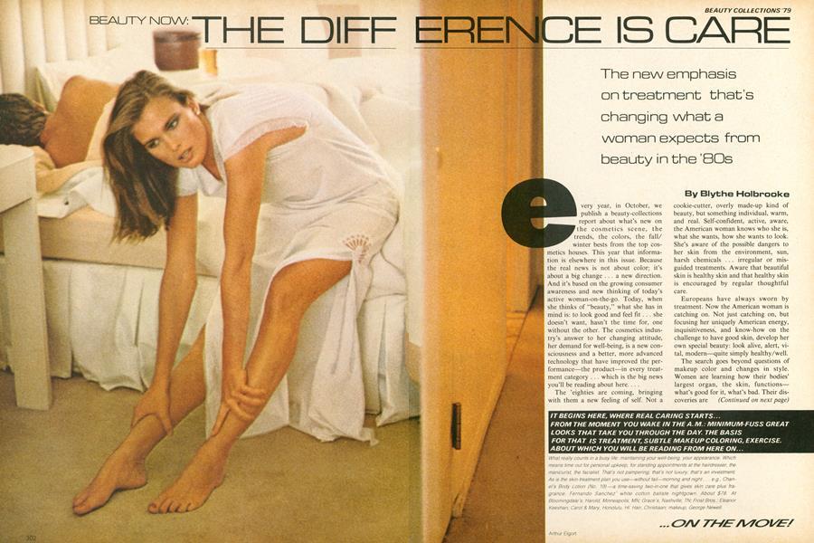 Beauty on the Move: The New Treatment Idea