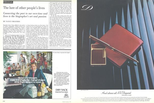Article Preview: Personal: The Lure of Other People's Lives, November 1979 | Vogue