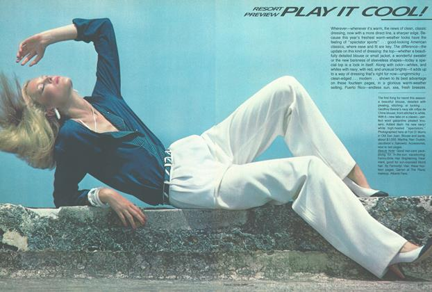 Article Preview: Resort Preview: Play it Cool!, November 1979 | Vogue