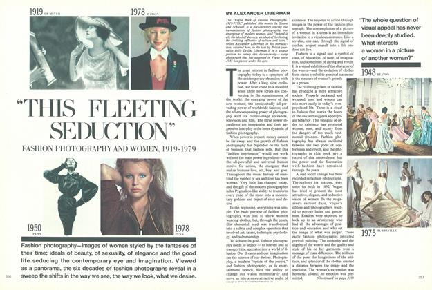 "Article Preview: ""This Fleeting Seduction"", Fashion Photography and Women, 1919-1979, November 1979 