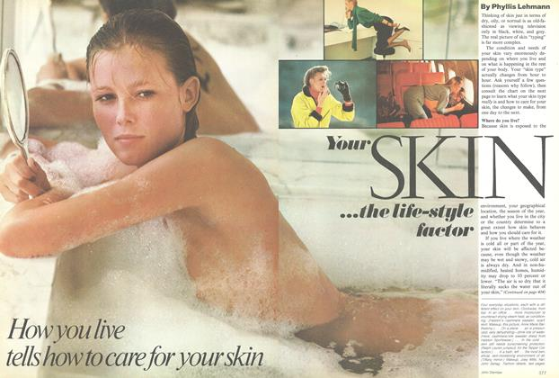 Article Preview: Your Skin...the Life-Style Factor, November 1979 | Vogue