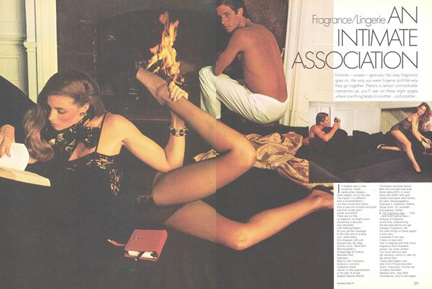 Article Preview: Fragrance/Lingerie: An Intimate Association, November 1979 | Vogue