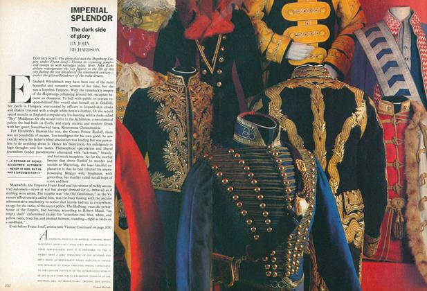 Article Preview: Imperial Splendor: The Dark Side of Glory, December 1979 | Vogue