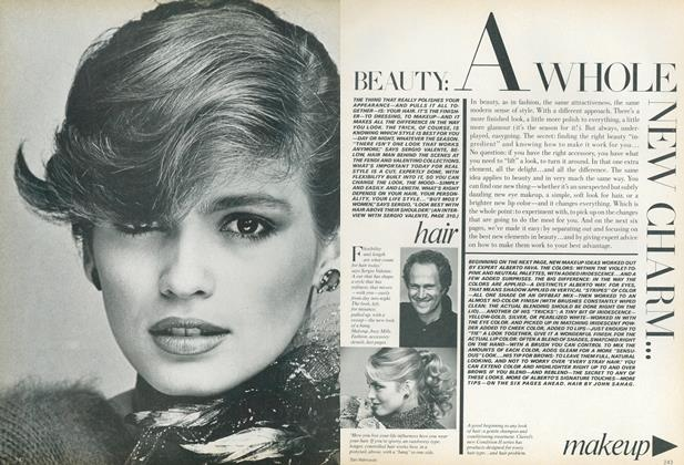 Article Preview: Beauty: A Whole New Charm..., December 1979 | Vogue