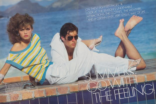 Article Preview: Summer: Go With the Feeling!, May 1980 | Vogue
