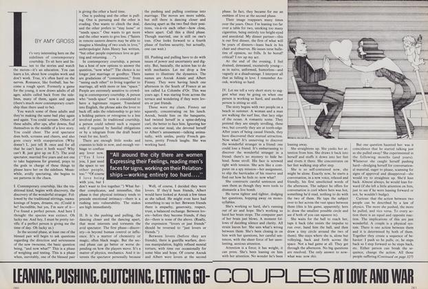 Article Preview: Leaning, Pushing, Clutching, Letting Go—Couples at Love and War, May 1980 | Vogue