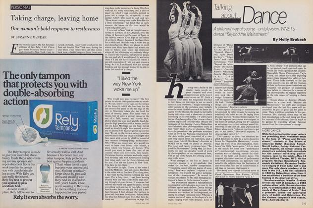 Article Preview: Taking Charge, Leaving Home, May 1980 | Vogue