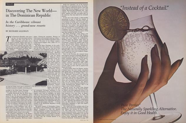 Article Preview: Discovering the New World—in the Dominican Republic, May 1980 | Vogue